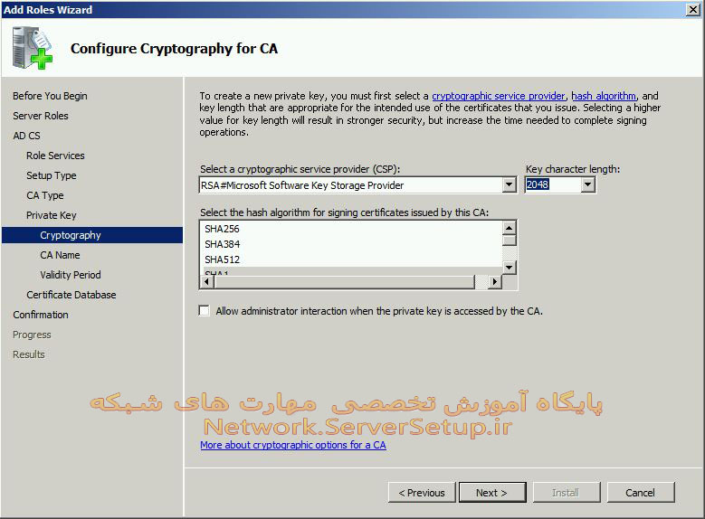 certificate services 11