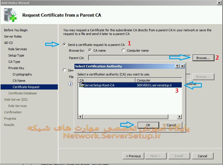 certificate services 22