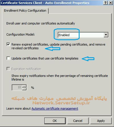 certificate services 58